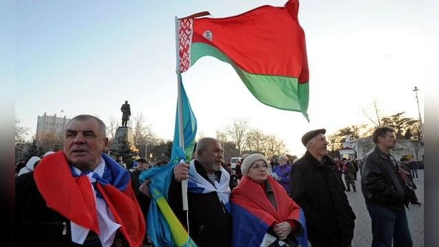 Figaro: С Белоруссией и частью Украины Россия вновь станет империей