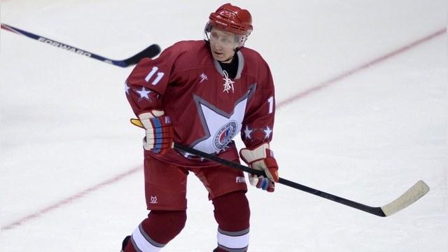 NYT: Внешняя политика Путина - это «хоккей без правил»
