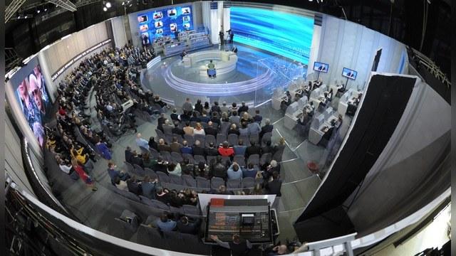 Американцы прервали трансляцию Путина из-за «неудобного вопроса»