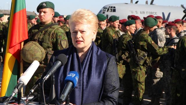 Десантники США стали «настоящими друзьями» для президента Литвы