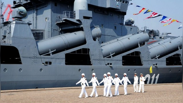Россия и Китай проведут учения у спорных островов