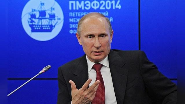 Путин: На Украине идет полномасштабная гражданская война