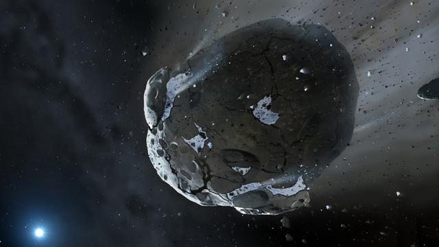 Челябинский метеорит попал на Землю рикошетом