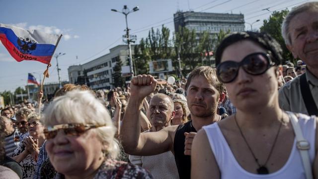 Донецк и Луганск объединились в «единое государство Новороссию»