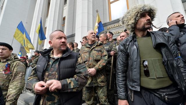 FAZ: Разочарованные ветераны Майдана не пошли на выборы