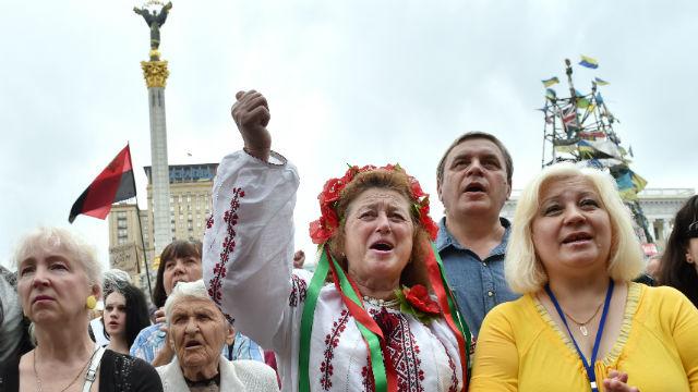 ARD: «Бродяги» с Майдана раздражают киевских таксистов