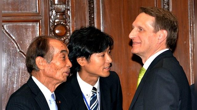 Asahi: Токио принял у себя Нарышкина, несмотря на недовольство Вашингтона