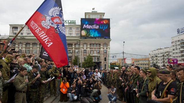 FAZ: Бездействие Путина на Украине доведет ополченцев до Москвы