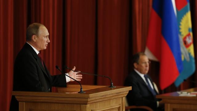 Путин: Порошенко взял на себя всю ответственность за военные действия