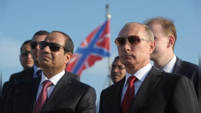 Washington Post раскрыл тайну ас-Сиси - он политический близнец Путина