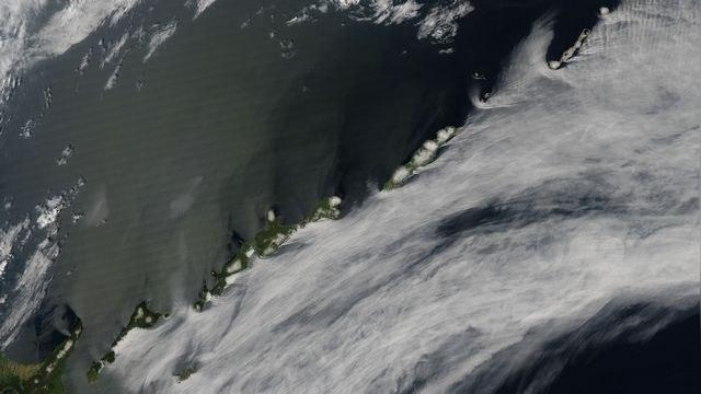 На карте страны японцы узнают Курилы по фото со спутника