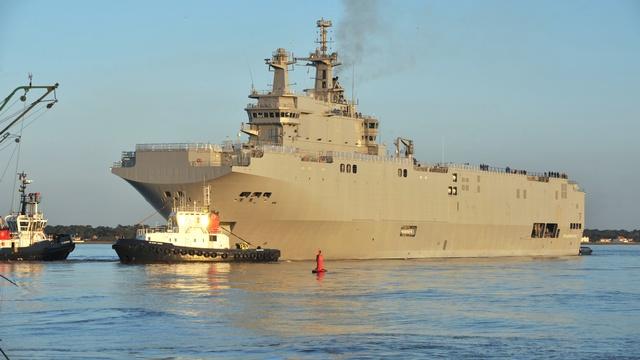 Ouest-France: Российских моряков изгнали с «Владивостока»