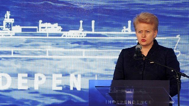 Грибаускайте: Защитим Украину от «террориста России»