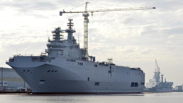 Le Dauphine: С борта российского «Мистраля» украли «умное железо»