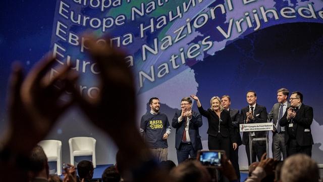 Le Monde: На съезд партии Ле Пен приехали друзья из «Единой России»