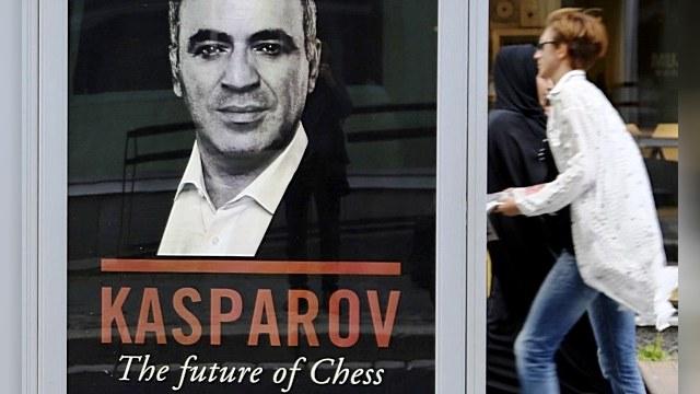 Гарри Каспаров поддержал друзей чеченских террористов