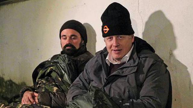 Газетный магнат Лебедев и мэр Лондона на одну ночь стали бездомными