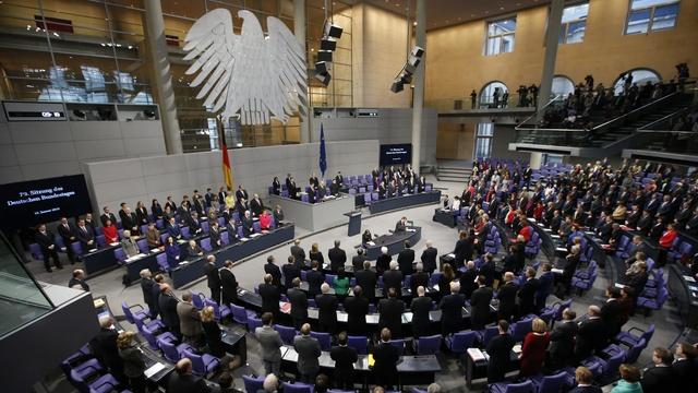 В годовщину Победы немецкие левые видят Путина на трибуне бундестага