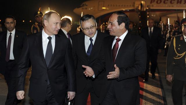 Israel Hayom: Путин нашел в Египте новых друзей России