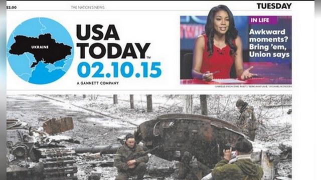 Foreign Policy: В USA Today обошлись без Крыма на карте Украины