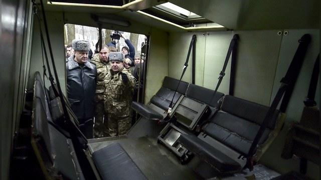 Guardian: Британия вооружила Киев списанными броневиками