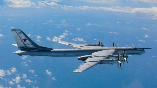 Российские бомбардировщики «распугали» ирландские самолеты