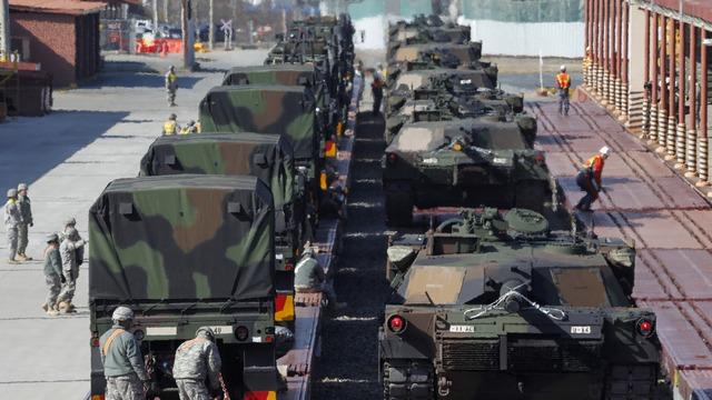 DN: От «российской агрессии» Европу защитят 800 американских танков