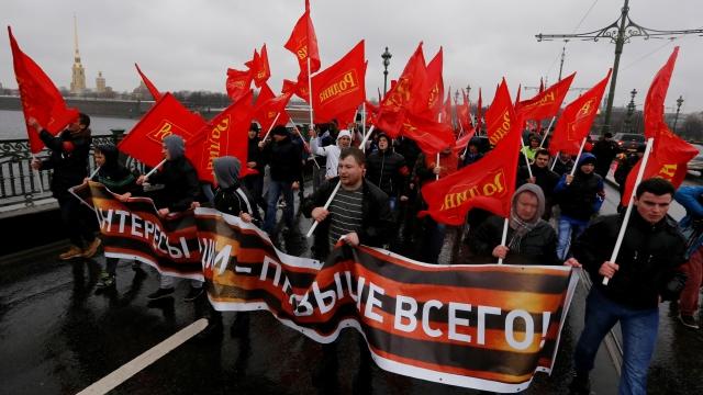 Правые радикалы со всей Европы слетелись в Петербург