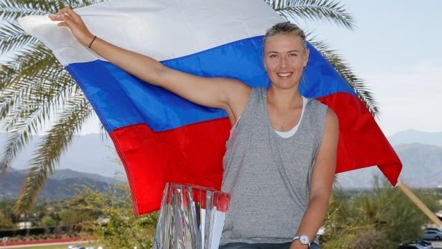Мария Шарапова ни на что не променяет свое российское гражданство