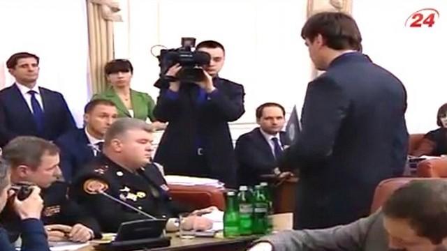 Главу МЧС Украины арестовали прямо на заседании кабмина
