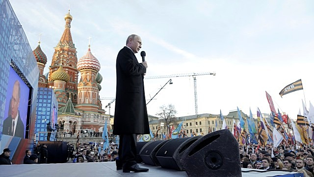 Le Figaro: Путин берет соседей на испуг ради великой цели