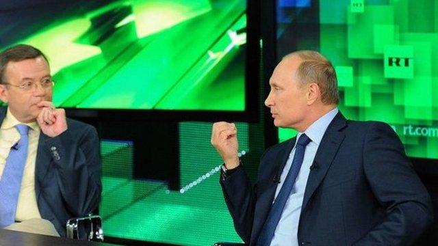 Россия ведет информационную войну оружием противника