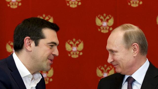 Slate: «Дипломатический балет» Москвы и Афин не скроет их разобщенность