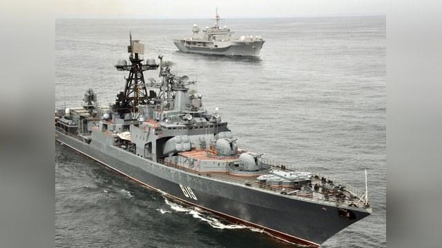 Российские корабли пройдут через Ла-Манш с британским эскортом