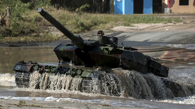 Die Welt: «Леопарды» не защитят Германию от российских танков