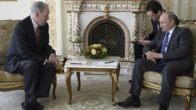 CBC: Встреча экс-премьера Канады с Путиным наделала шуму в Оттаве