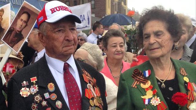 NYM: Ветераны Великой Отечественной отметили День Победы на Брайтон-Бич