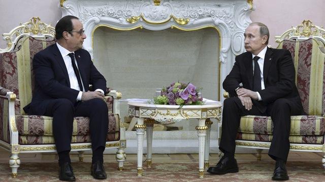 Nouvelles de France: Олланду пора поучиться науке президентства у Путина