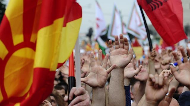 Standard: «Цветная революция» в Македонии ударит по интересам Кремля