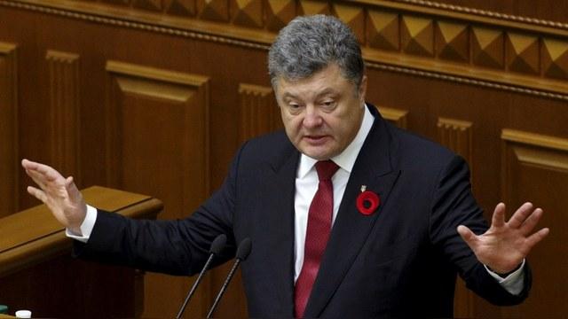 Порошенко разрешил украинскому правительству не платить по долгам