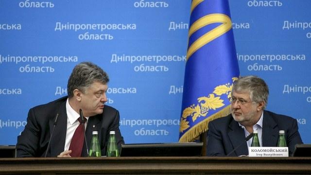 FAZ: Штайнмайер в Днепропетровске обходил Коломойского стороной