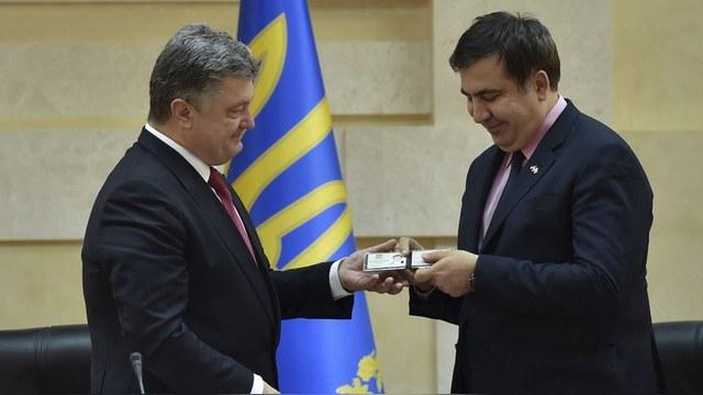 Zeit: Опыт войны с Россией довел Саакашвили до Одессы