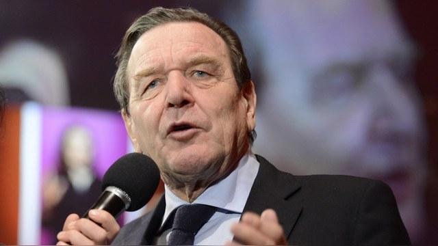 Шрёдер: «У России есть альтернатива Европе, но не наоборот»