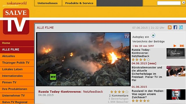 Канал локального вещания Salve TV: Здесь звучит настоящий голос Кремля