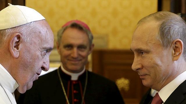Bild: Путина и Ватикан объединила нелюбовь к однополым бракам