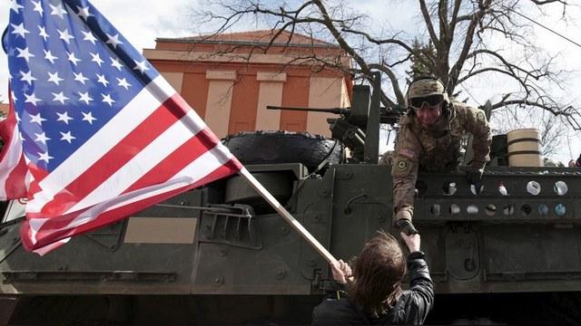 Зеленые предостерегли США от размещения танков в Восточной Европе