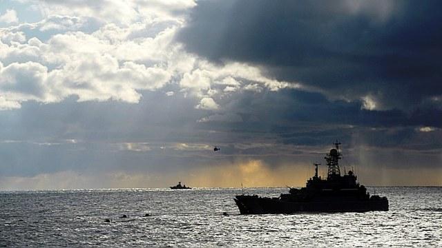 Mixnews: Российский флот «заглянул» в экономическую зону Латвии