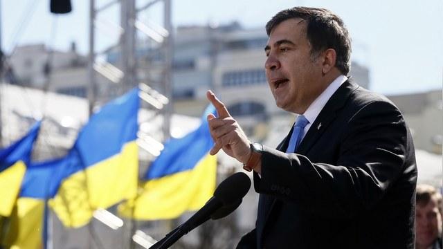 Саакашвили предложил грузинским детям «снять стресс» в Одессе