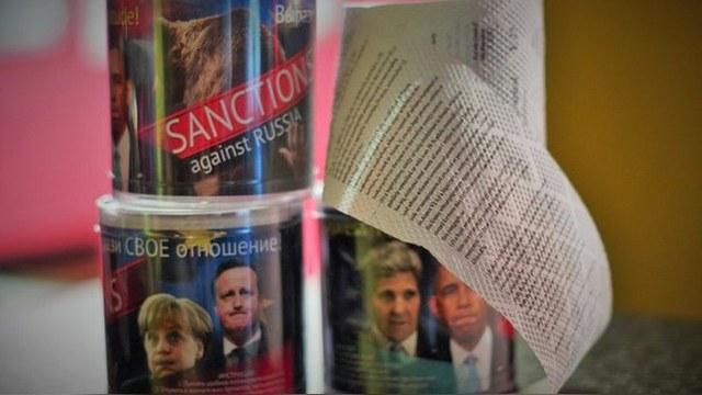 Западные санкции пришли к россиянам в мягких рулонах