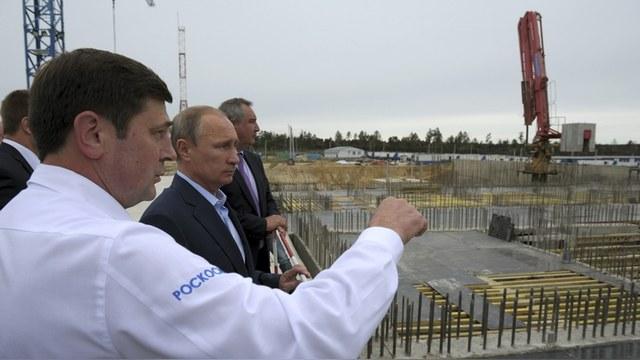 Daily Express: Россия построит космодром, а там и до Луны рукой подать